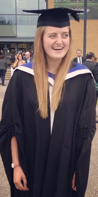 Kirsten Parry, MMus Music student at the University of Surrey