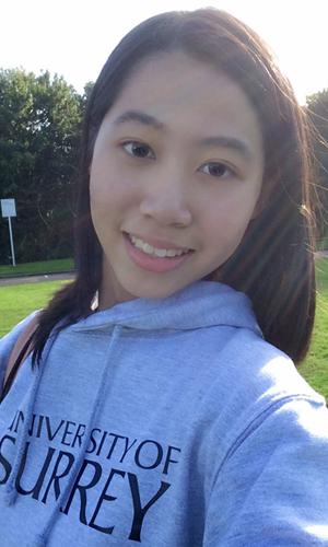 Xiyue Cai, MA Interpreting student at the University of Surrey