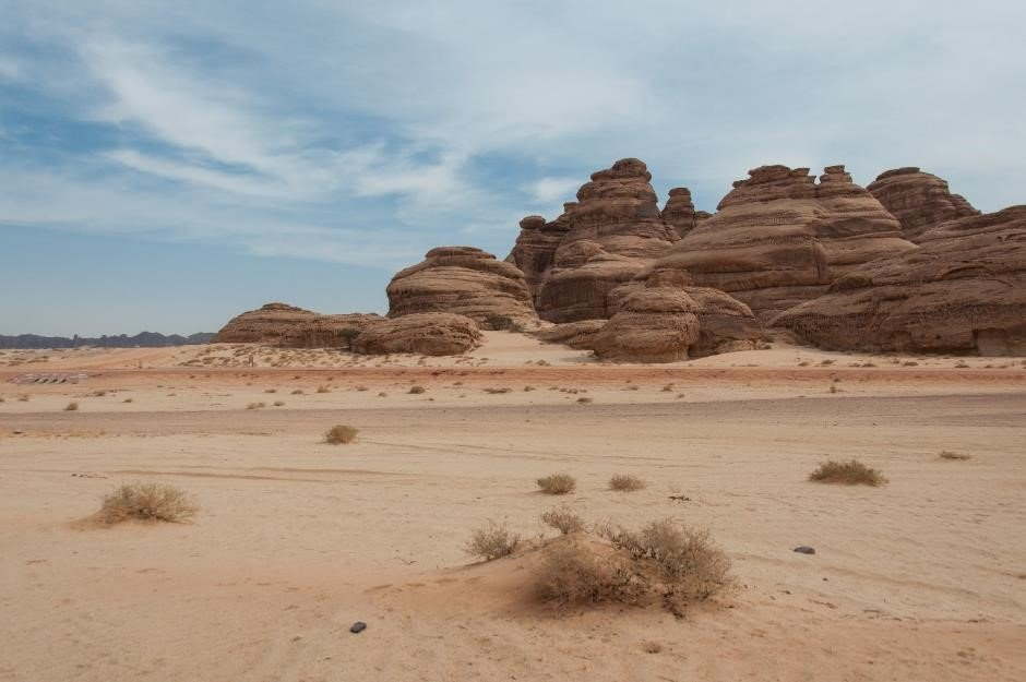 Rock formations in ALUla