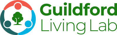 Guildford Living Lab logo in colour