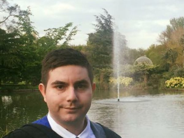 Christos Michael, MSc Marketing Management graduate from the University of Surrey