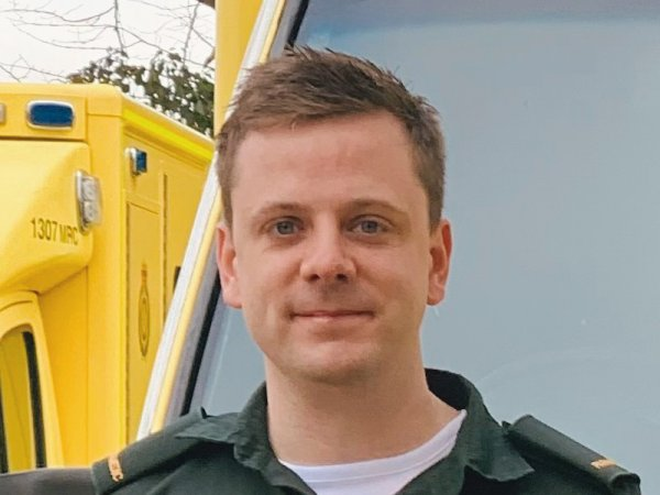 Barry Costello, BSc (Hons) Paramedic Science