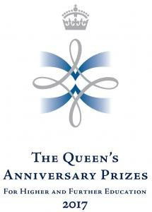 The Queen's Anniversary Prizes for Higher and Further Education 2017 logo