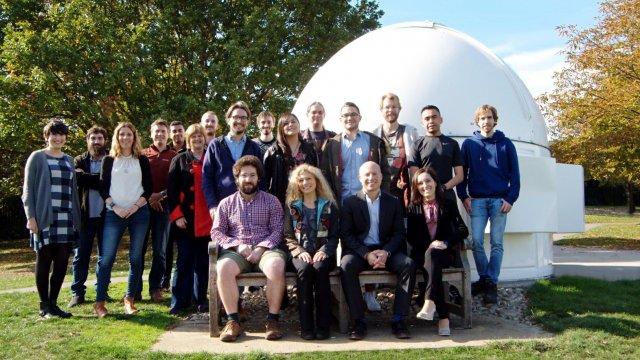 Surrey astrophysics group photo 07/10/2018
