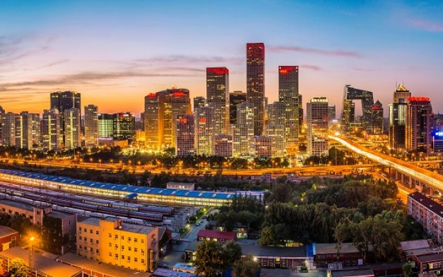 Photo of the Beijing skyline
