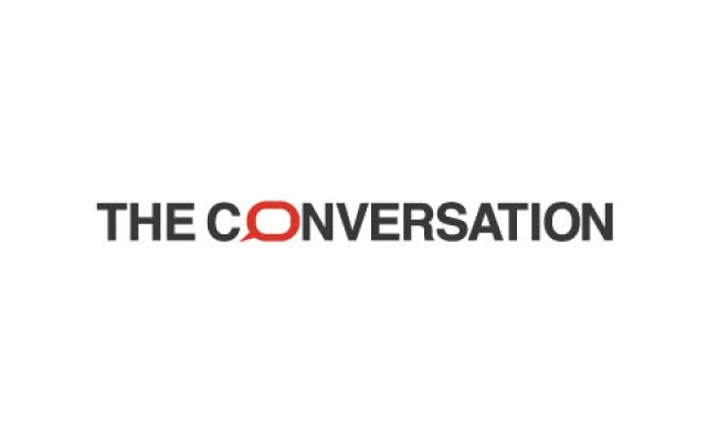 Logo for the website The Conversation