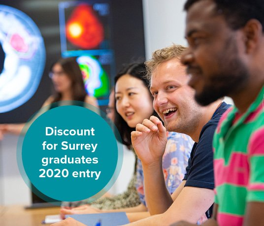 Discount for Surrey graduates