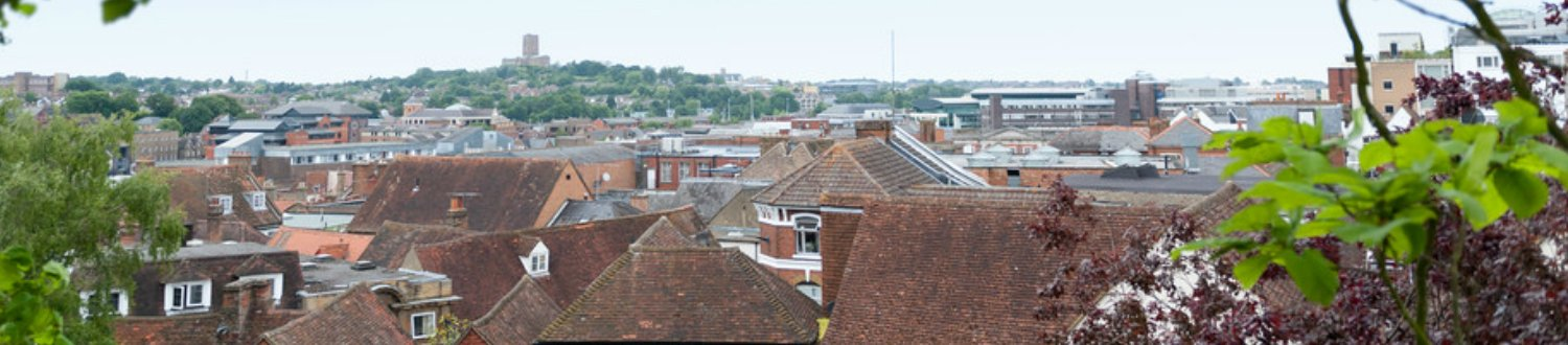 Rooftops of Guildford