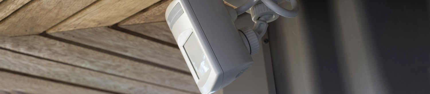 Motion detector on ceiling