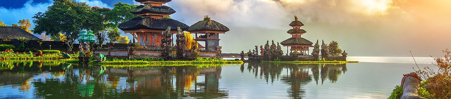 Traditional bali temple