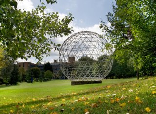 Geodesic Dome on Stag Hill campus
