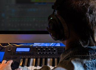 Music making on a computer