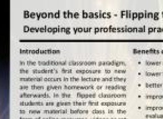 TEL: Beyond the basics: Flipping the classroom