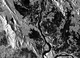 Black and white rock imagery