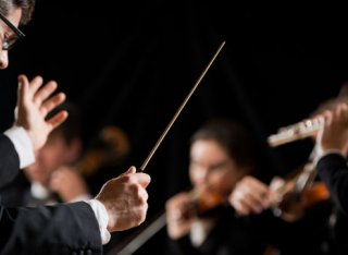 Conductor and orchestra
