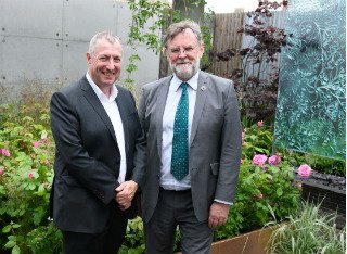 Professor Tony Myatt and Professor Richard Murphy