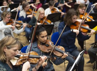 Strings at the University of Surrey Orchestra Day
