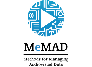 Logo of the MeMAD project.