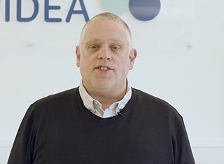 Andy Adcroft at an Surrey IDEA event