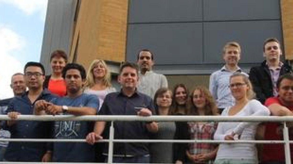 A gre 2013 members oup photo of thof the Soft Matter Group