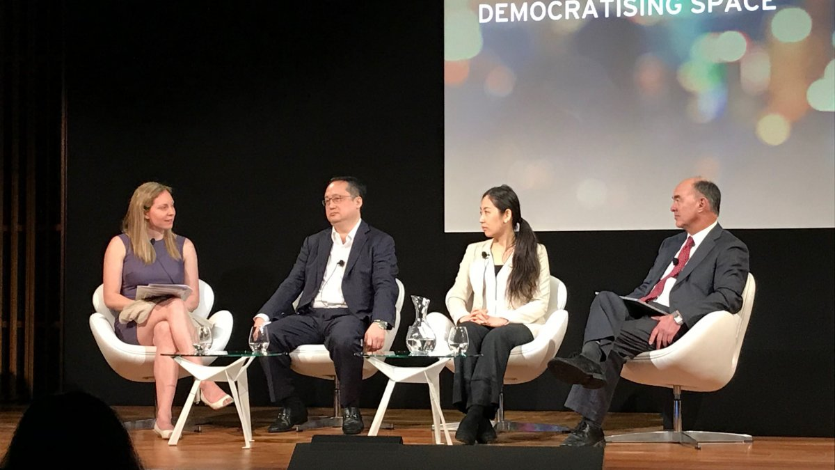 Panel of speakers at the Great Festival of Innovation 2018