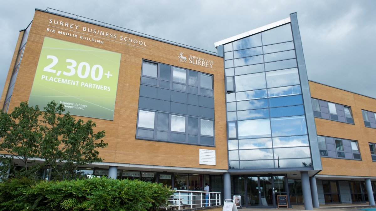 Surrey Business School building