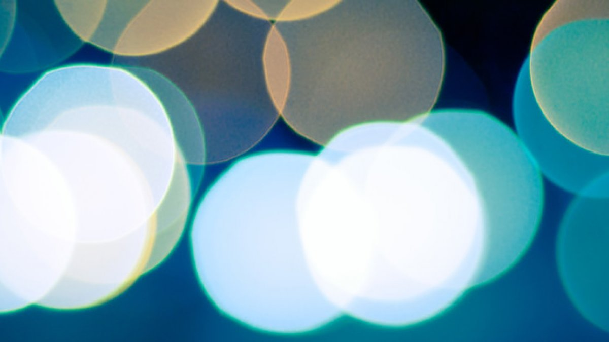 Abstract image of lights