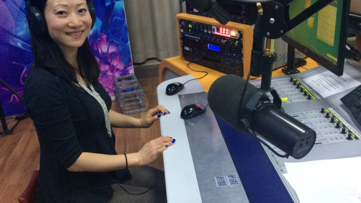 Dr Li took part in a radio interview