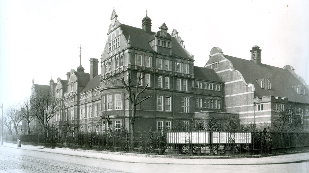 Exterior of Battersea Polytechnic