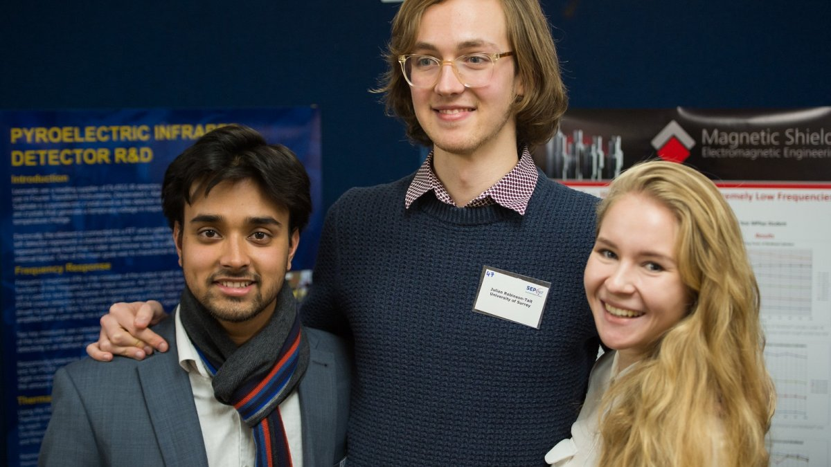 Students at SEPnet event
