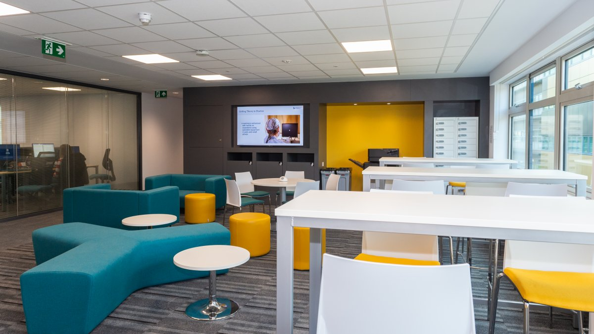 An image of the new psychology facilities at the University.
