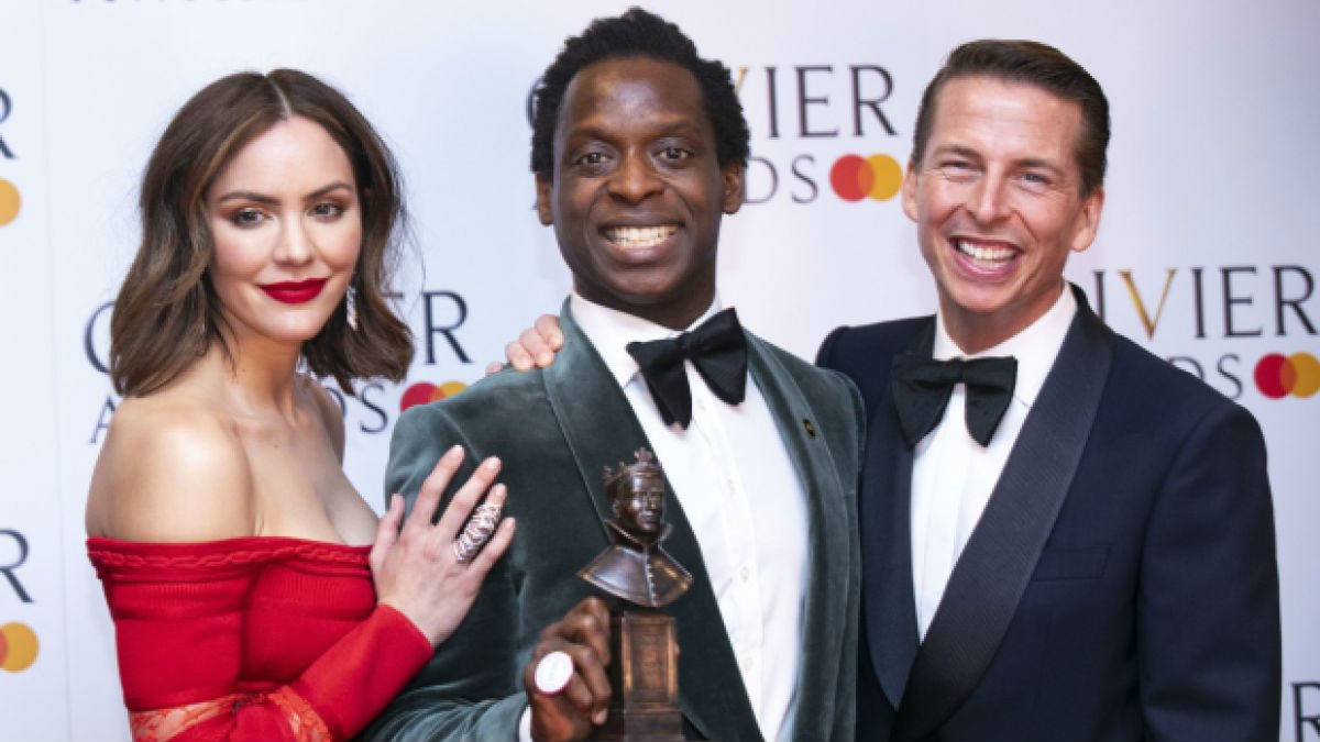 Kobna Holdbrook-Smith wins Olivier Award