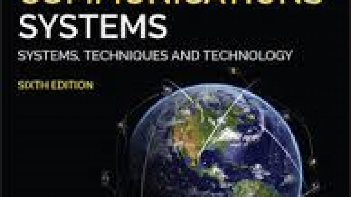 Cover-page-Satellite Communications Systems - 6th Ed