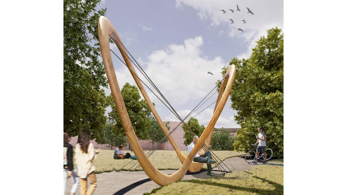 The Attractor sculpture to go on Manor Park campus