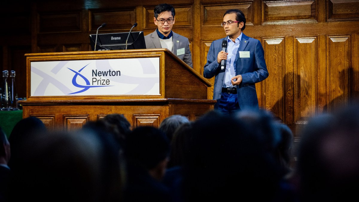 Newton Prize Award Ceremony