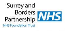 Surrey and Borders Partnership logo