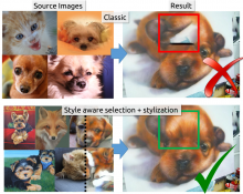Disentangling Structure and Aesthetics for Style-aware Image Completion - CVPR'18