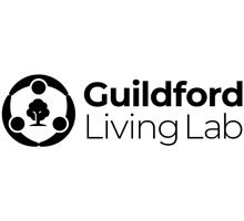 Guildford Living Lab logo in black